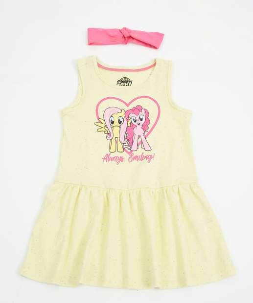 Image_Vestido Infantil Estampa My Little Pony Brinde Hasbro