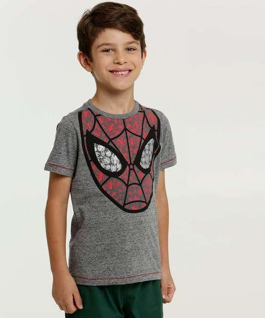 Image_Camiseta Infantil Botonê Homem Aranha Marvel