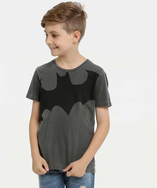 Image_Camiseta Infantil Estampa Batman Liga da Justiça