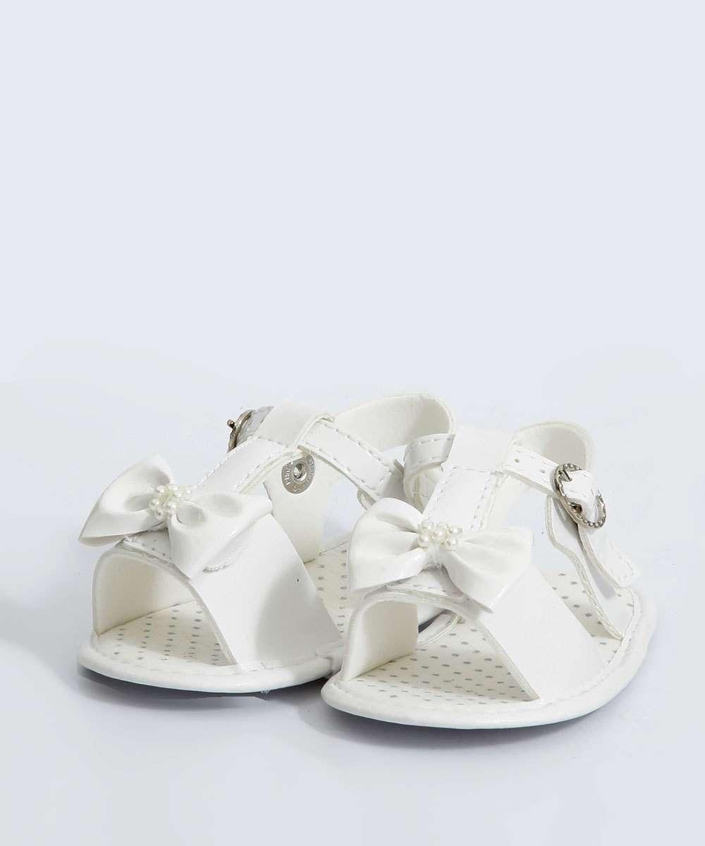 Sandália Infantil Laço Pimpolho