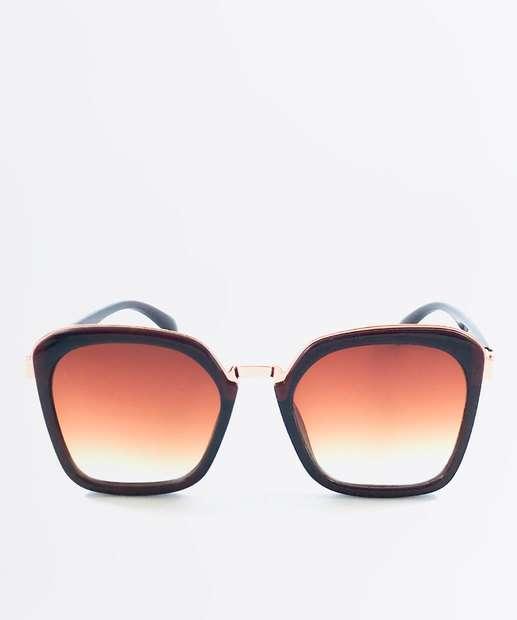ca32cdad8e7cb Óculos de Sol Feminino Quadrado Marisa