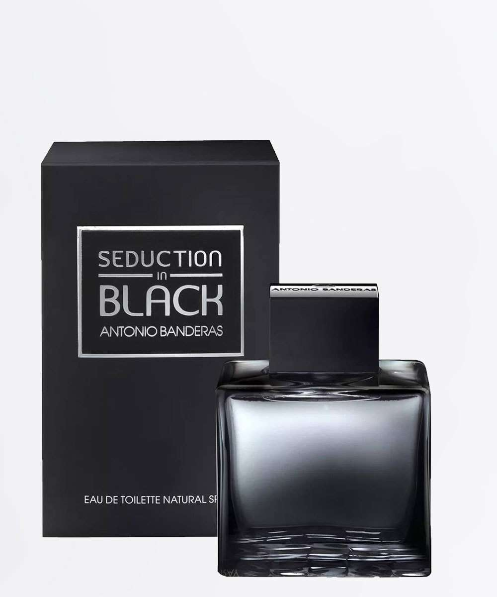 Perfume Masculino Seduction In Black Antonio Banderas - Eau de Toilette 200ml