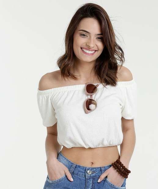 Image_Blusa Feminina Cropped Ombro A Ombro Marisa