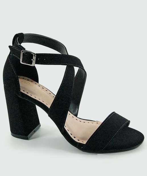 Image_Sandália Feminina Salto Grosso Milenar Shoes 5993092