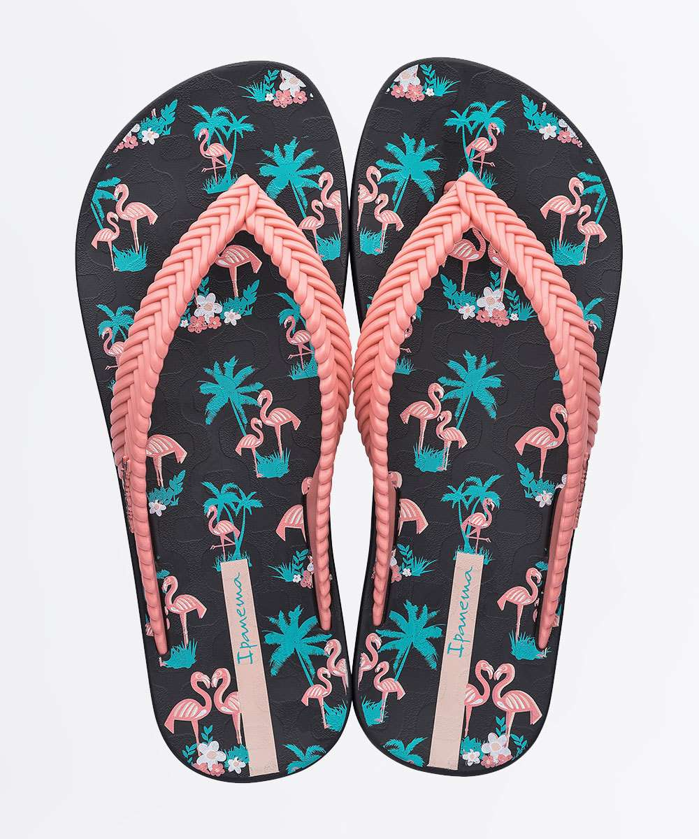 Chinelo Feminino Flamingo Nature Print Ipanema 26269