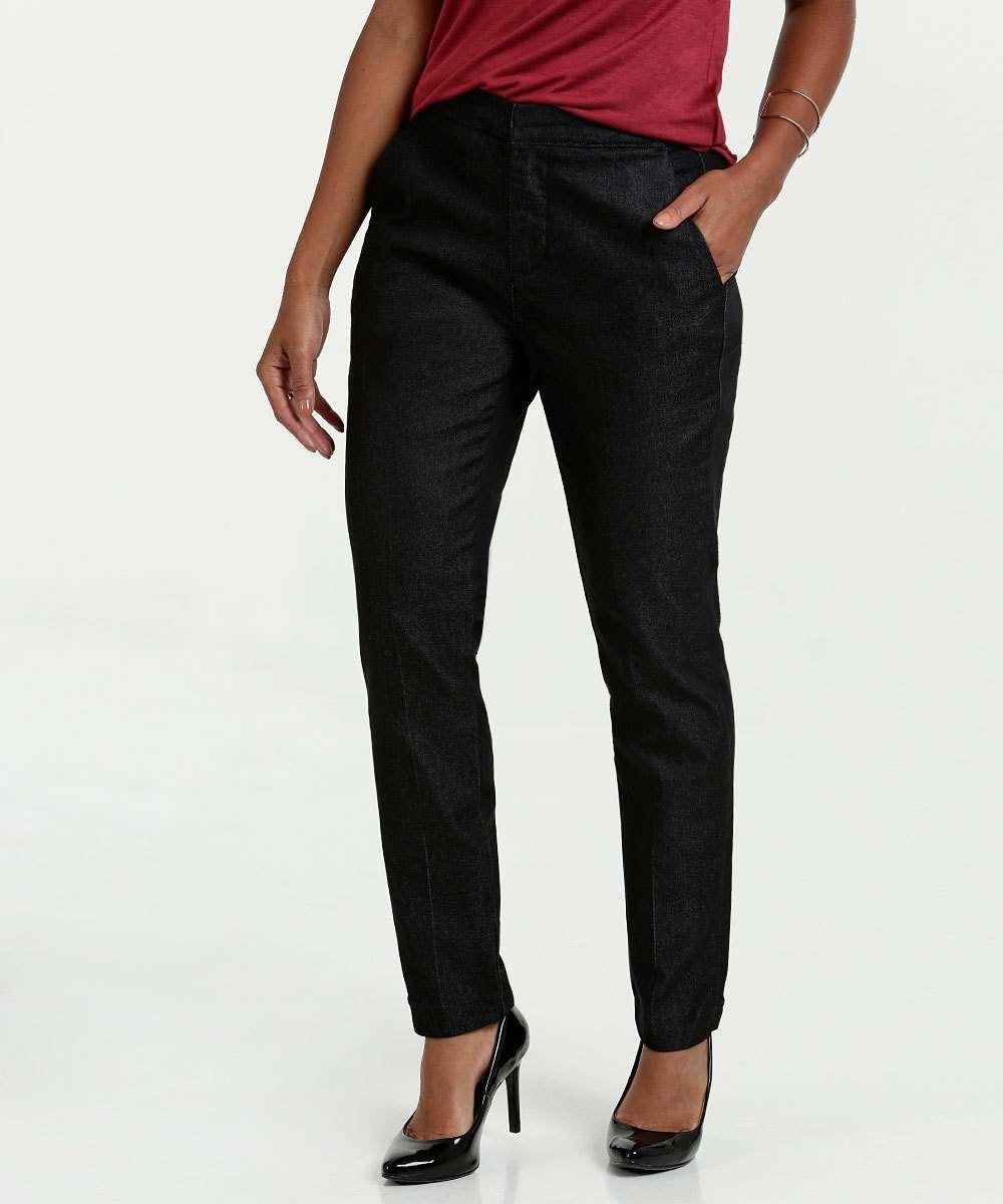 Calça Feminina Jeans Alfaiataria Marisa