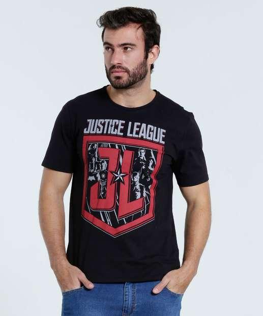 Image_Camiseta Masculina Super Heróis Liga da Justiça