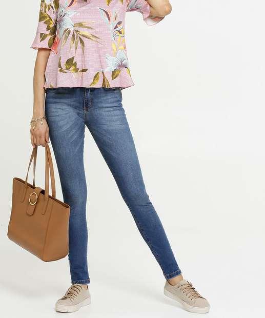 Image_Calça Skinny Feminina Zamany Jeans