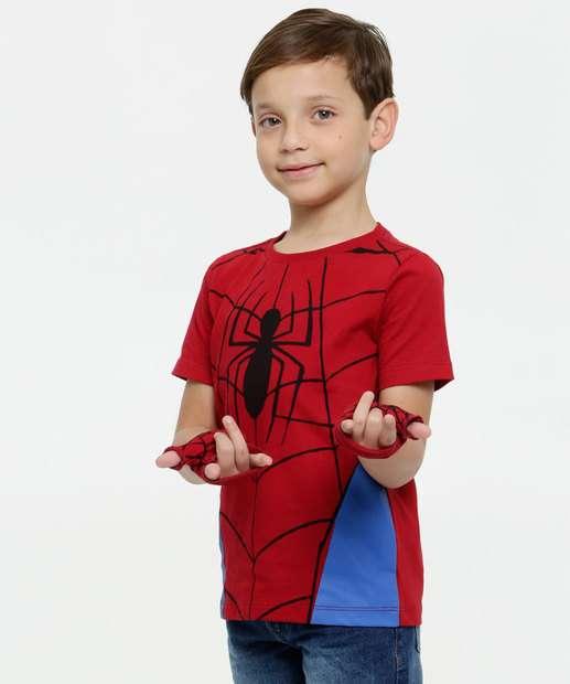 Image_Camiseta Infantil Homem Aranha Brinde Marvel
