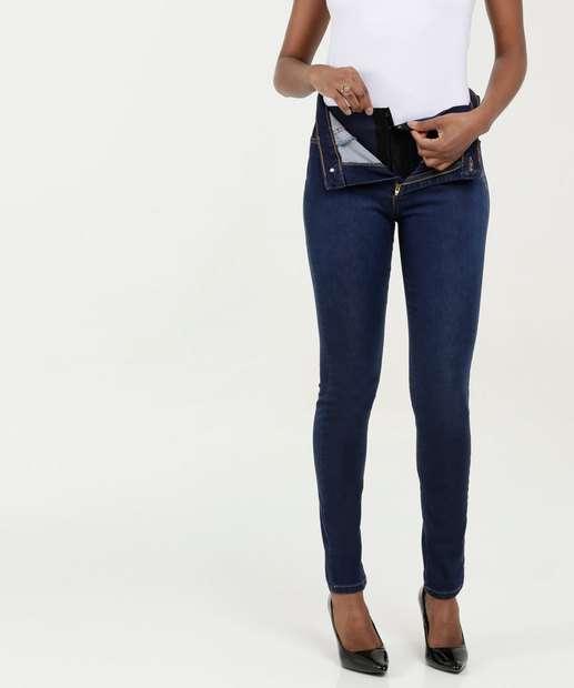Image_Calça Feminina Jeans Super Lipo Modeladora Skinny Sawary