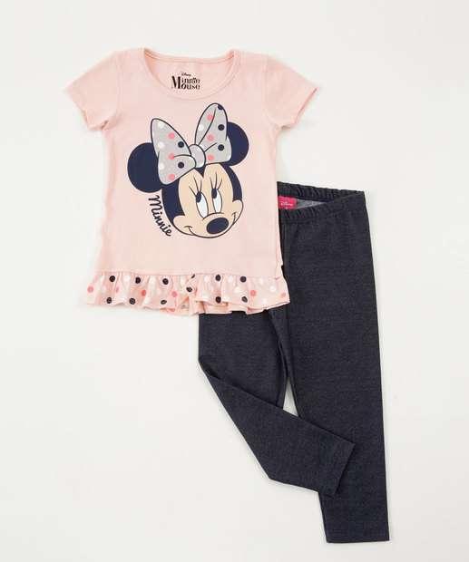 Image_Conjunto Infantil Brilho Minnie Disney