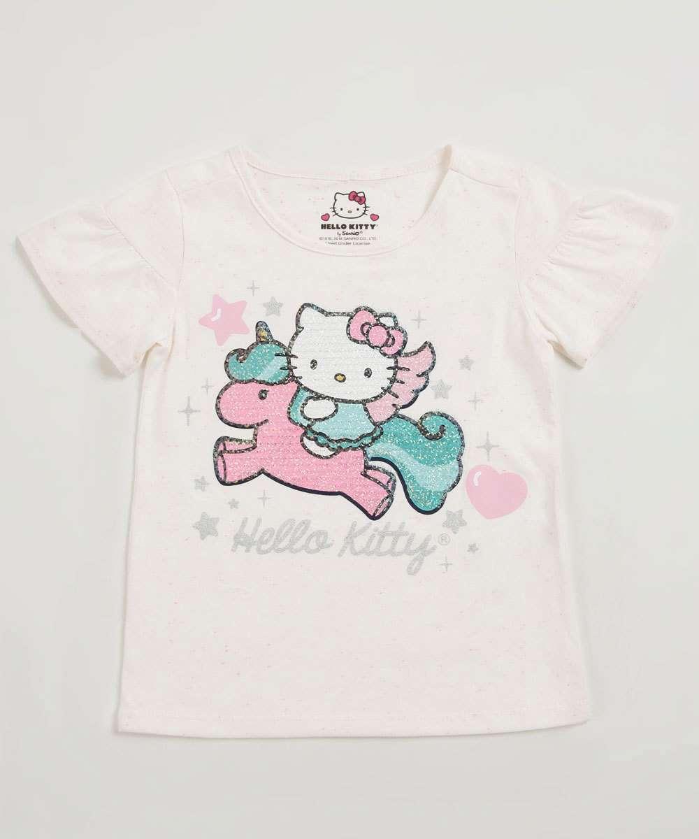 Blusa Infantil Hello Kitty Sanrio