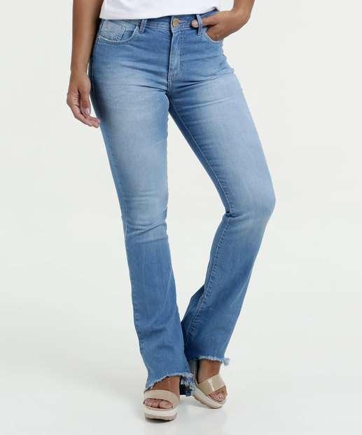 Image_Calça Jeans Feminina Boot Cut Five Jeans