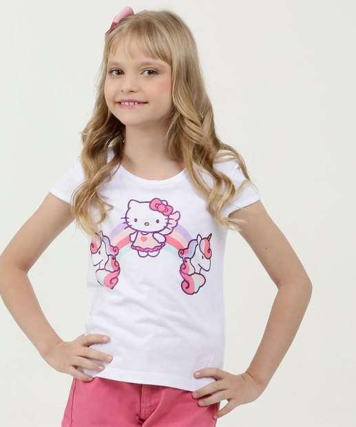 Image_Blusa Infantil Estampa Hello Kitty Glitter Sanrio