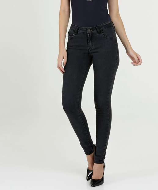 Image_Calça Feminina Skinny Stretch Uber Jeans