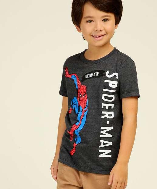 Image_Camiseta Infantil Homem Aranha Marvel Tam 4 a 10