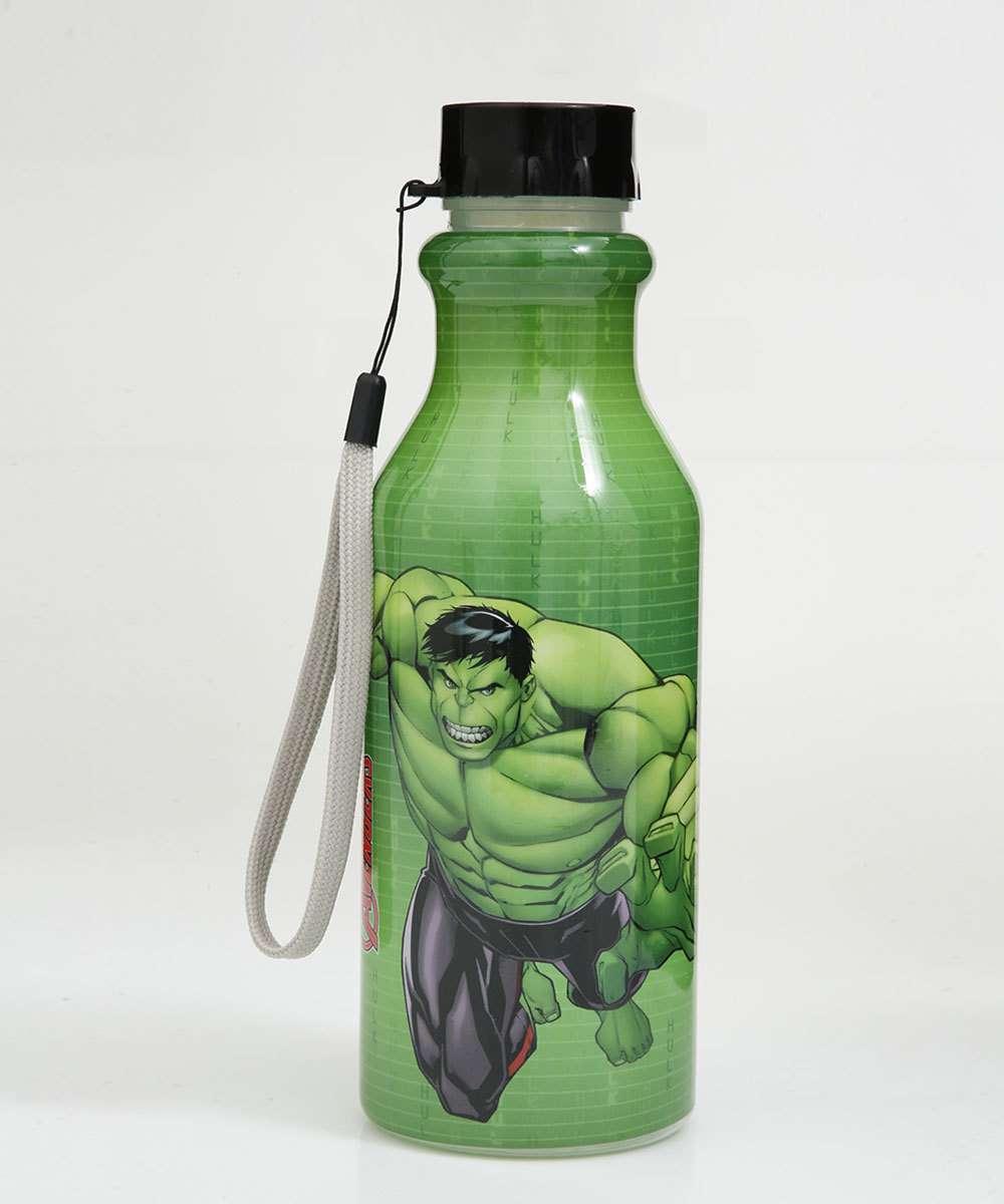 Garrafa Infantil Estampa Hulk 500ML Plasútil
