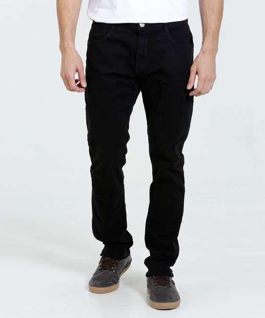 Image_Calça masculina em sarja com bolsos Marisa