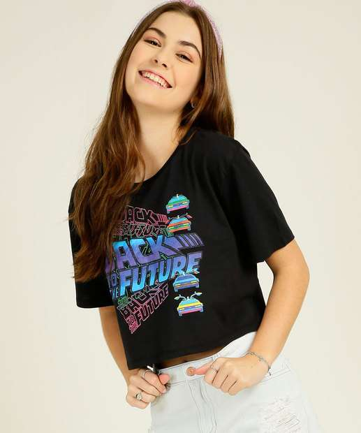 Image_Blusa Juvenil De Volta Para o Futuro Universal Tam 10 a 16