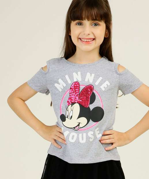 Image_Blusa Infantil Open Shoulder Minnie Disney Tam 4 a 10