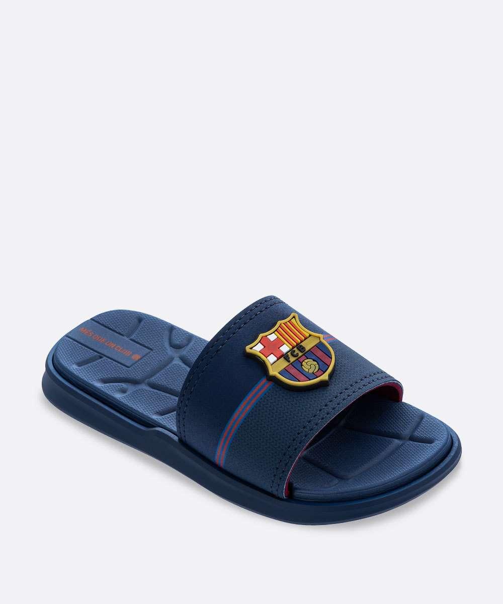 Chinelo Infantil Slide Barcelona FC Rider