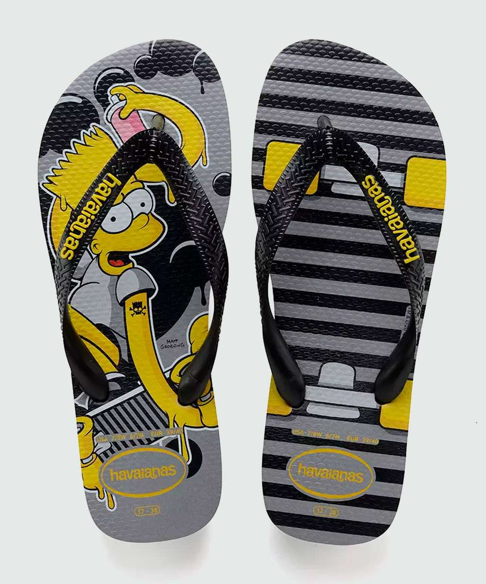 Chinelo Masculino Simpsons Havaianas 5178