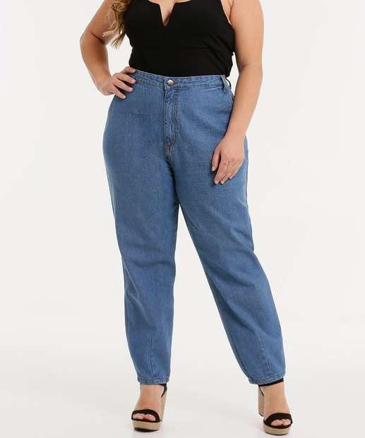 Image_Calça Plus Size Feminina Jeans Mom
