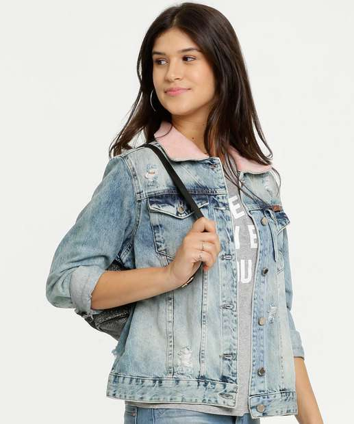 Image_Jaqueta Feminina Destroyed Zune Jeans By Sabrina Sato
