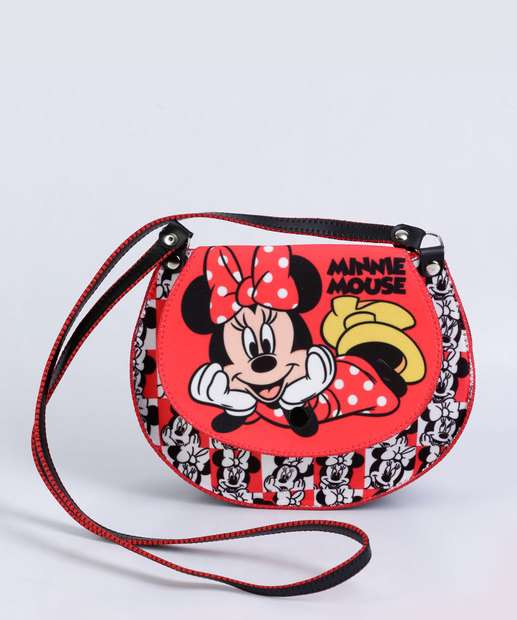 Image_Kit Bolsa Infantil Estampa Minnie Disney
