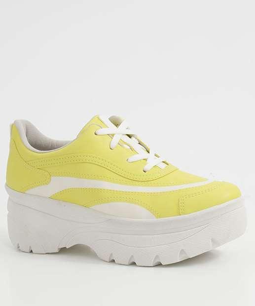 Image_Tênis Feminino Chunky Sneaker Listras Dakota