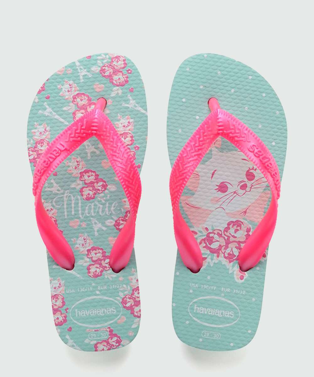 Chinelo Havaianas Infantil Kids Top Marie  0642