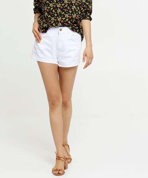 Image_Short Feminino Jeans Cintura Alta
