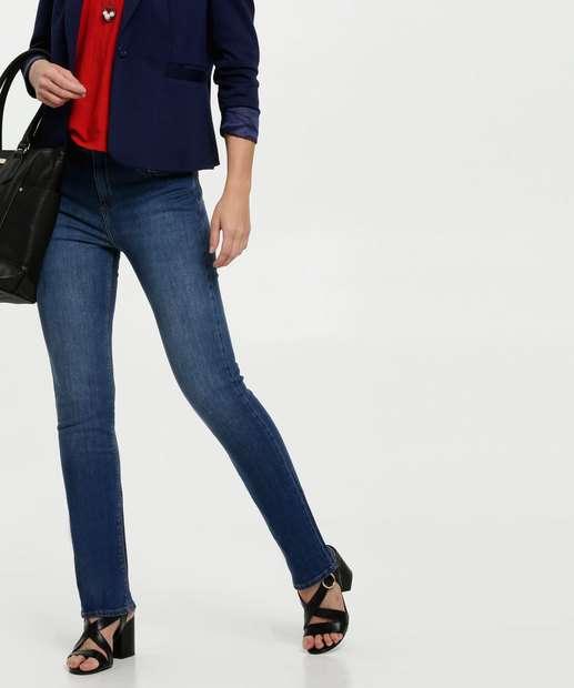 Image_Calça Feminina Jeans Stretch Reta Marisa