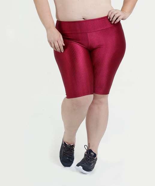 Image_Bermuda Feminina Plus Size Fitness Texturizado Marisa