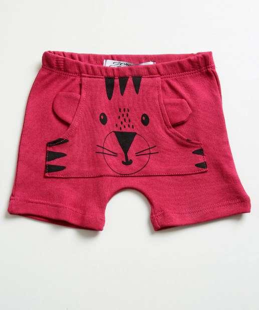Image_Short Infantil Estampa Tigre