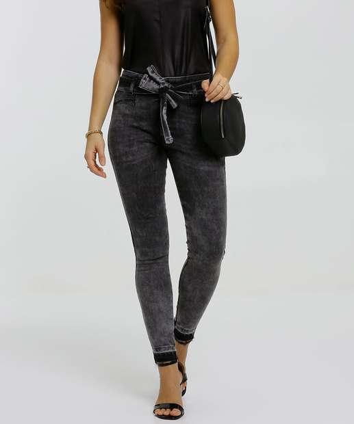 Image_Calça Jeans Skinny Feminina Amarração Biotipo