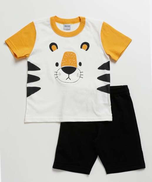 Image_Conjunto Infantil Estampa Urso Manga Curta