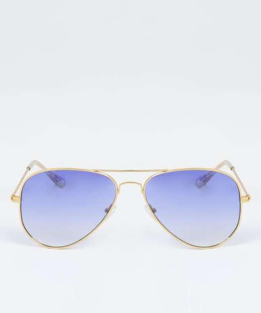 Image_Óculos de Sol Feminino Aviador Marisa