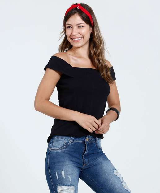 Image_Blusa Feminina Ombro a Ombro Marisa
