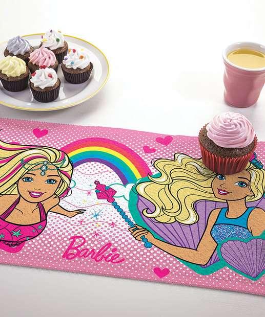 Image_Toalha de Lancheira Estampa Barbie Lepper