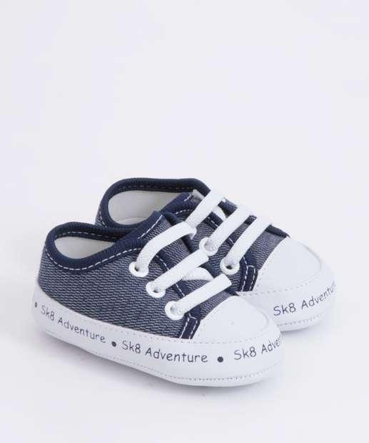 Image_Tênis Infantil Bebê Casual Jeans Pimpolho