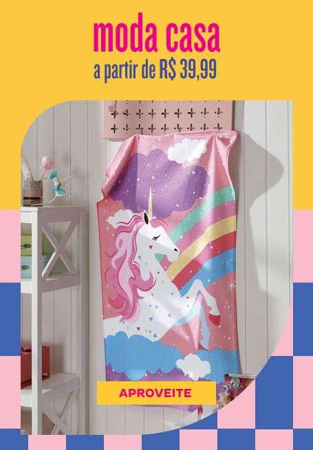 Moda Casas a partir de R$39,99
