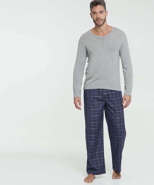 Image_Pijama Masculino Estampado Manga Longa