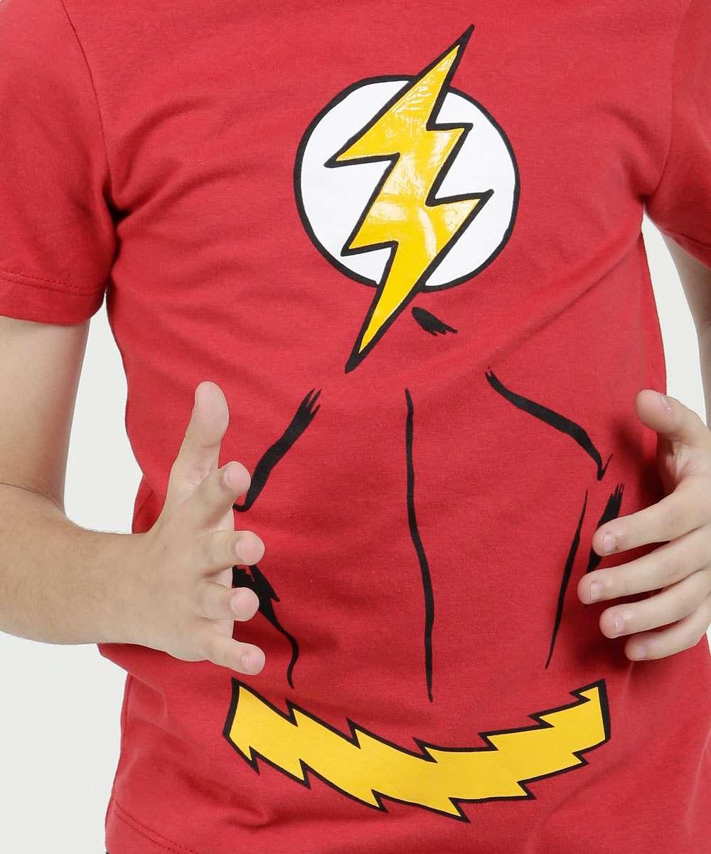 fc3e62871 Regata Infantil Estampa Flash Capuz Liga da Justiça