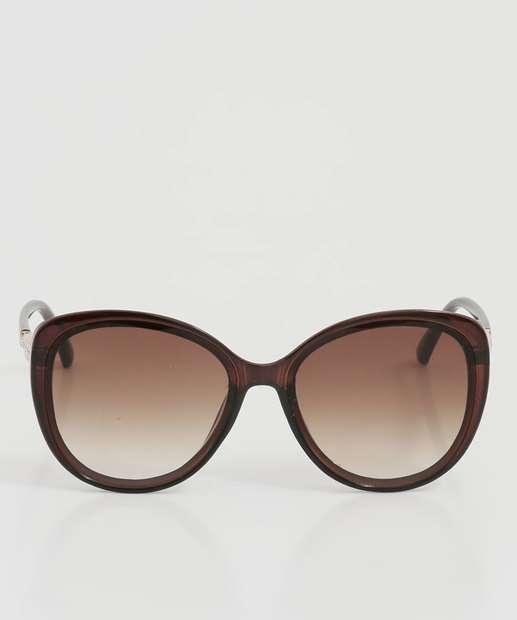 Image_Óculos de Sol Feminino Redondo Strass Marisa