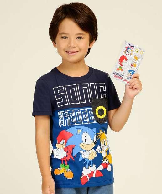 Image_Camiseta Infantil Estampada Brinde Sonic Tam 4 a 10