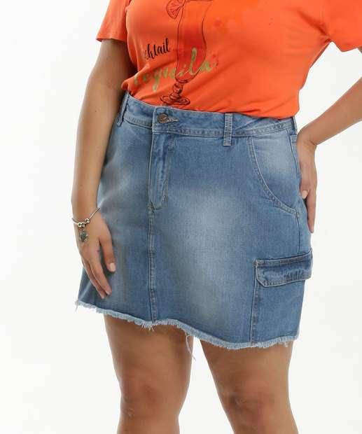 Image_Saia Feminina Jeans Cargo Plus Size Razon