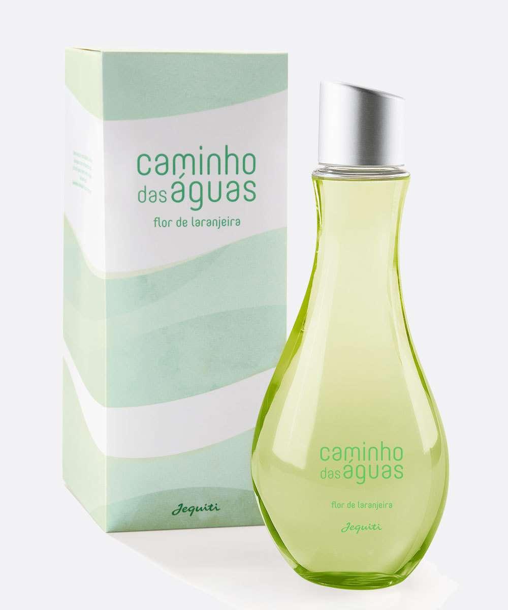Colônia Feminina Desodorante Caminho Das Águas Flor De Laranjeira Jequiti 300ml