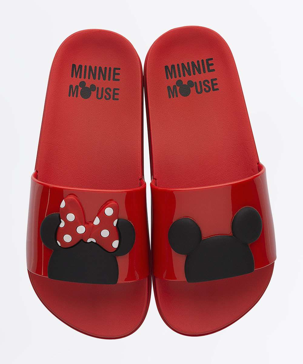 Chinelo Infantil Slide Minnie Disney Amazing Grendene Kids
