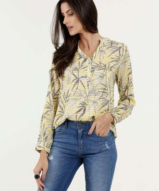 Image_Camisa Feminina Estampa Tropical Marisa